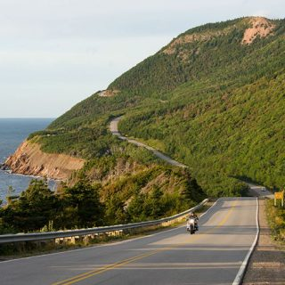 Breathtaking Cabot Trail in Cape Breton, Nova Scotia