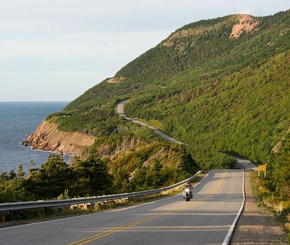 Breathtaking Cabot Trail in Cape Breton, Nova Scotia