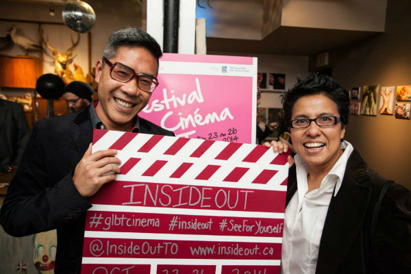 2016 Inside Out LGBTQ Film Festival in Toronto, Ontario