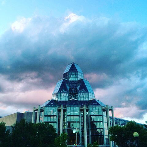 The National Gallery of Canada in Ottawa, Ontario
