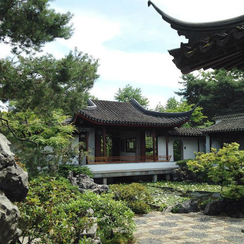 Dr. Sun Yat-Sen Classical Chinese Garden in Vancouver, British Columbia