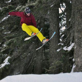 Cypress Mountain Ski Area near Vancouver, British Columbia
