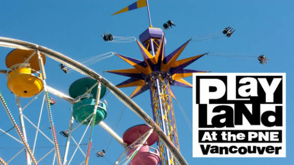 Playland Amusement Park in Vancouver, British Columbia