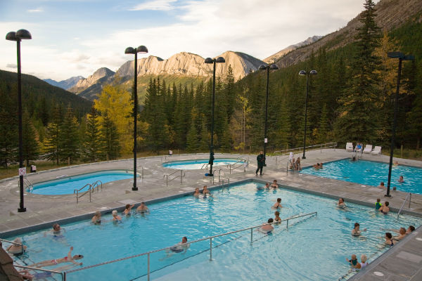 Banff Upper Hot Springs Alberta