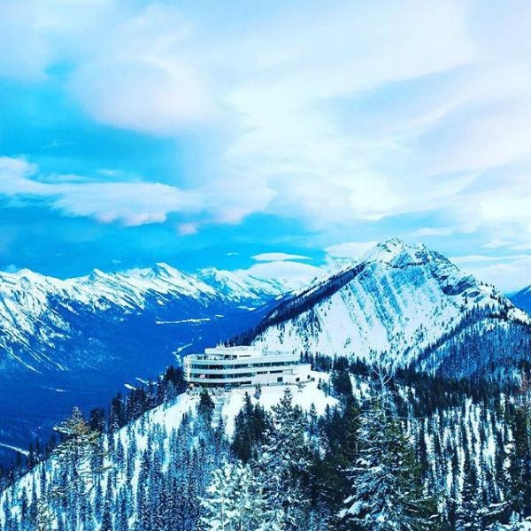 Sulphur Mountain Gondola in Banff, Alberta