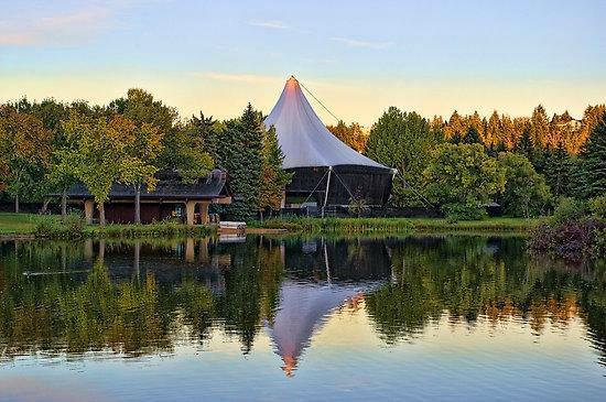 William Hawrelak Park in Edmonton, Alberta
