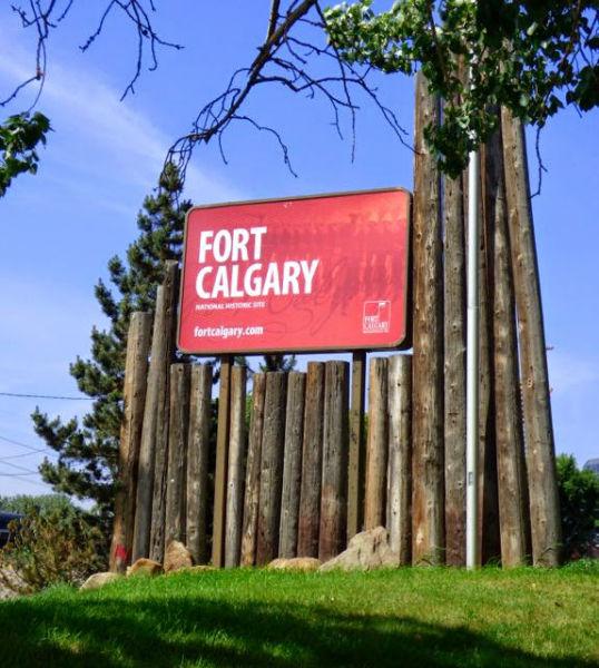 Fort Calgary in Calgary, Alberta
