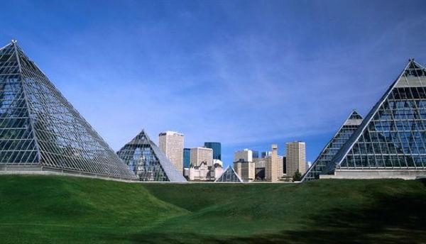 Muttart Conservatory in Edmonton, Alberta