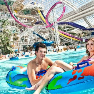 World Waterpark in West Edmonton Mall, Alberta
